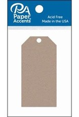 Paper Accents Craft Tags Recycled Kraft 1.625 x 3.25