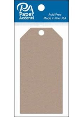 Paper Accents Craft Tags Recycled Kraft 2.125 x 4.25