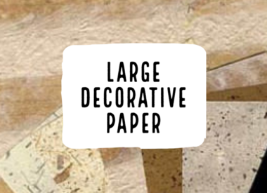 Large Decorative Paper