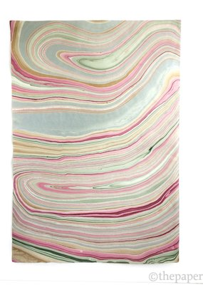 Graphic Products Paper Marbled Red / Gold / Green