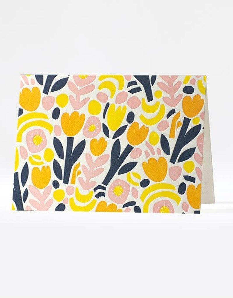 Elum Boxed Cards Collage Garden