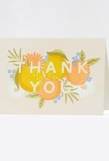 Elum Boxed Cards Lemon Peach Thanks