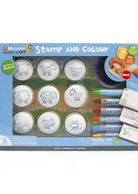 Micador Stamp & Color Barnyard Pack