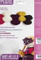 Leisure Arts Crochet Amigurumi Violet Valiant Heart