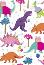 Jillson & Roberts Gift Wrap Roll Dino Party
