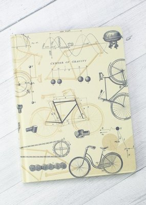Cognitive Surplus Hypothesis Hardcover Dot Grid Bicycle Science