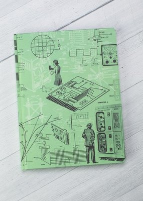 Cognitive Surplus Hypothesis Hardcover Dot Grid Early Computers