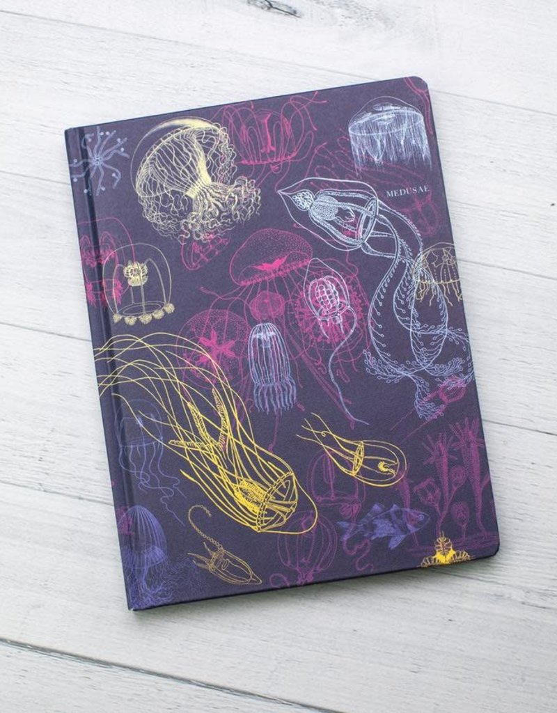 Cognitive Surplus Hypothesis Hardcover Dot Grid Jellyfish