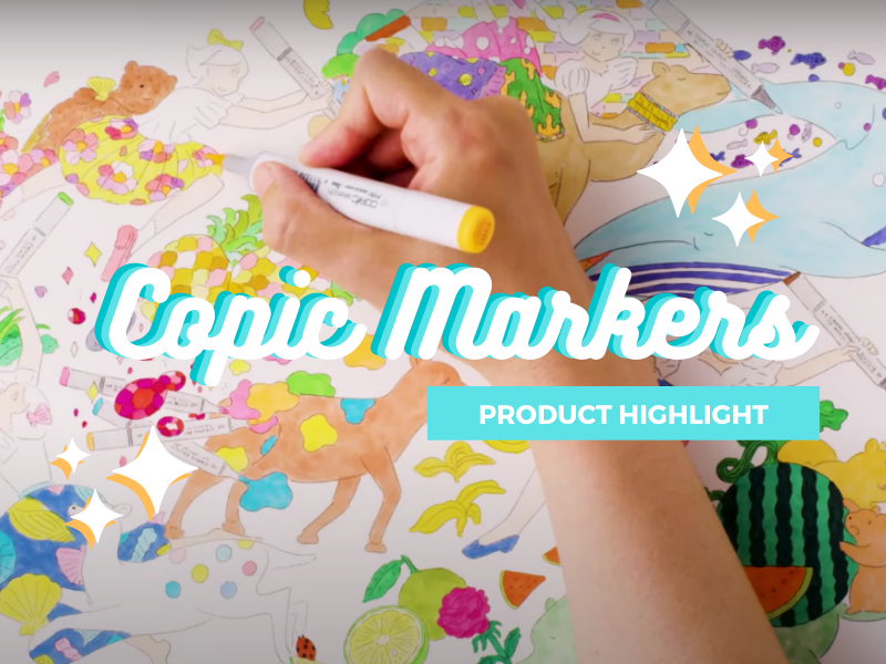 Product Highlight: Copic Markers