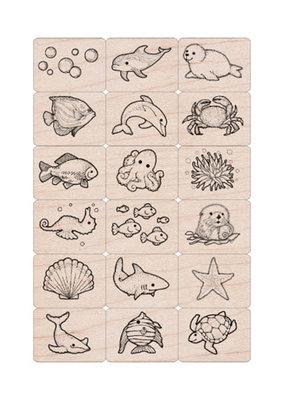 Hero Arts Ink and Stamp Sea Life Tub