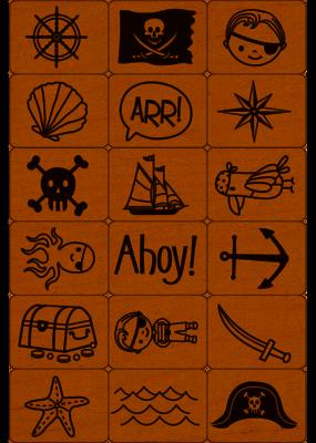 Hero Arts Ink and Stamp Pirate Stamp Tub