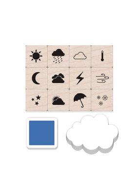 Hero Arts Weather Icons Mini Stamp Tub