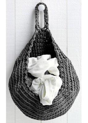 Hoooked Crochet Kit Storage Bag Anthracite