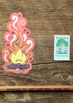 Noteworthy Sticker Campfire