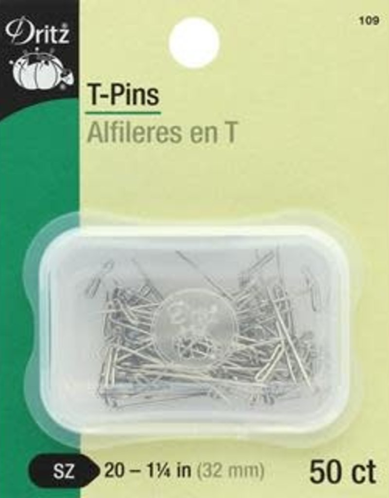 "Collins Collins T-Pins 1.25"" 100pc"