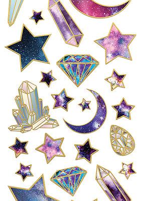 Paper House Sticky Pix Enamels Stargazer