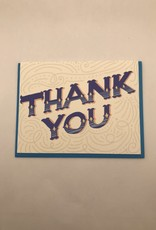 Slightly Stationery Card Whimsical Thank You