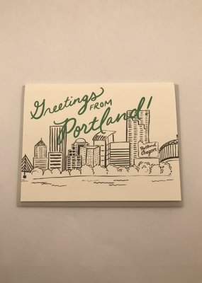 Slightly Stationery Card From Portland