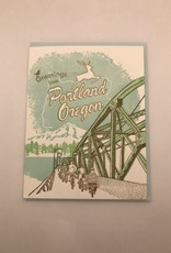 Ilee papergoods Card Portland Greetings