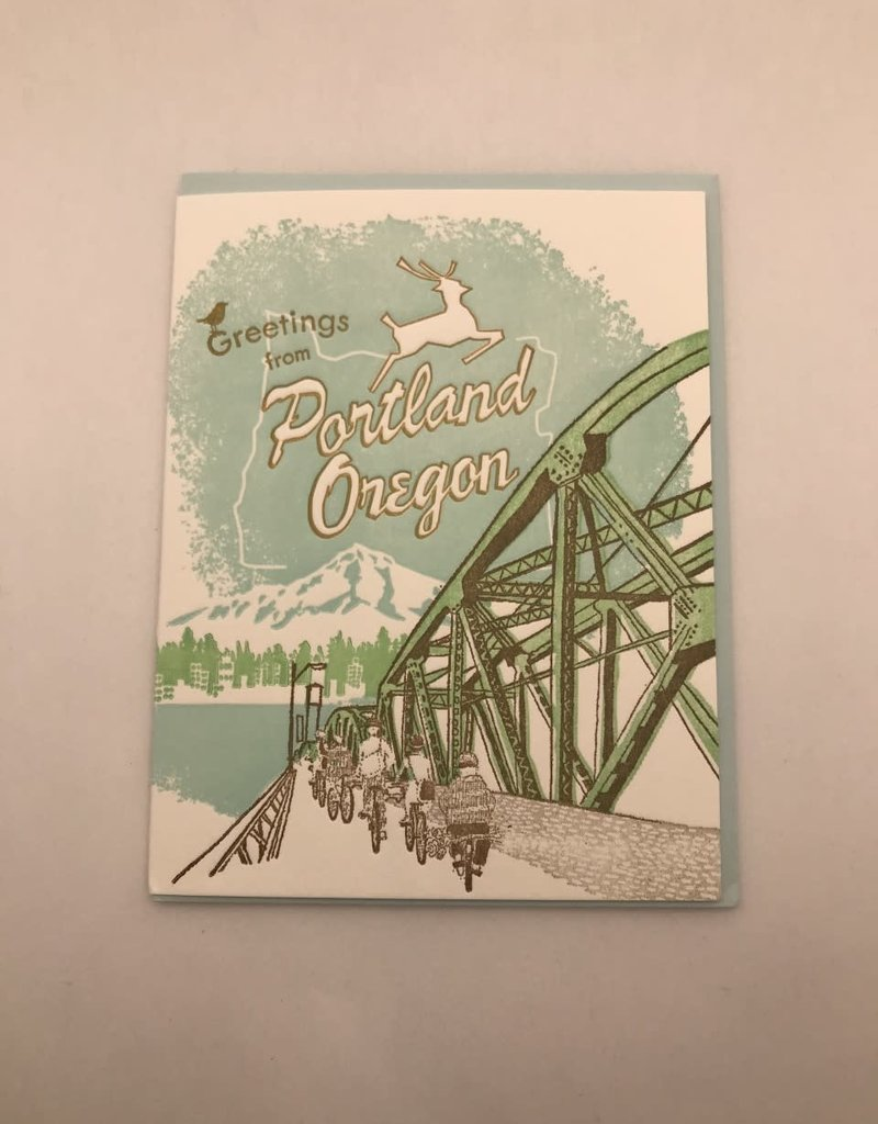 Ilee papergoods Card Portland Greetings