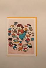 Stasia Burrington Card Book Lover
