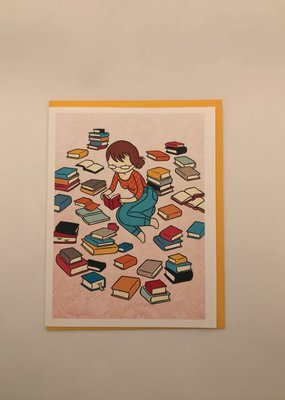 Stasia Burrington Card Book Lover