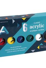 Art Alternatives Classic Acrylic Paint 6 Color Set