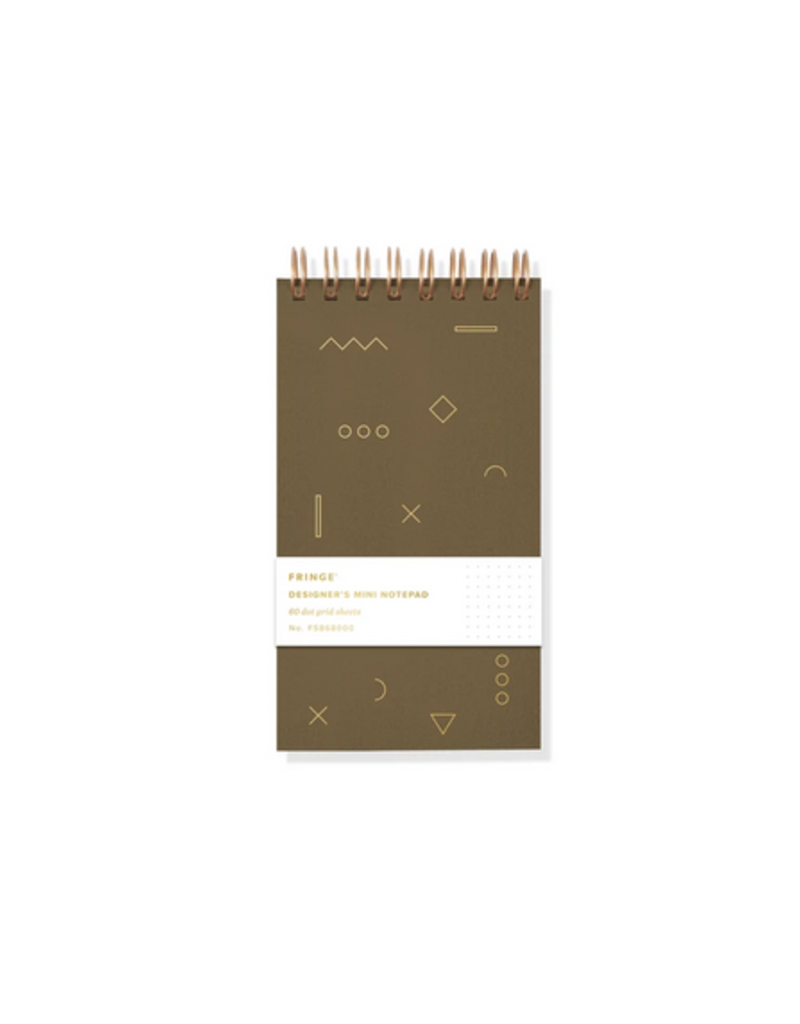 Fringe Notebook Designers Mini Geo Dot Grid