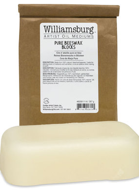 Williamsburg Handmade Oils Beeswax 1 lb. Block