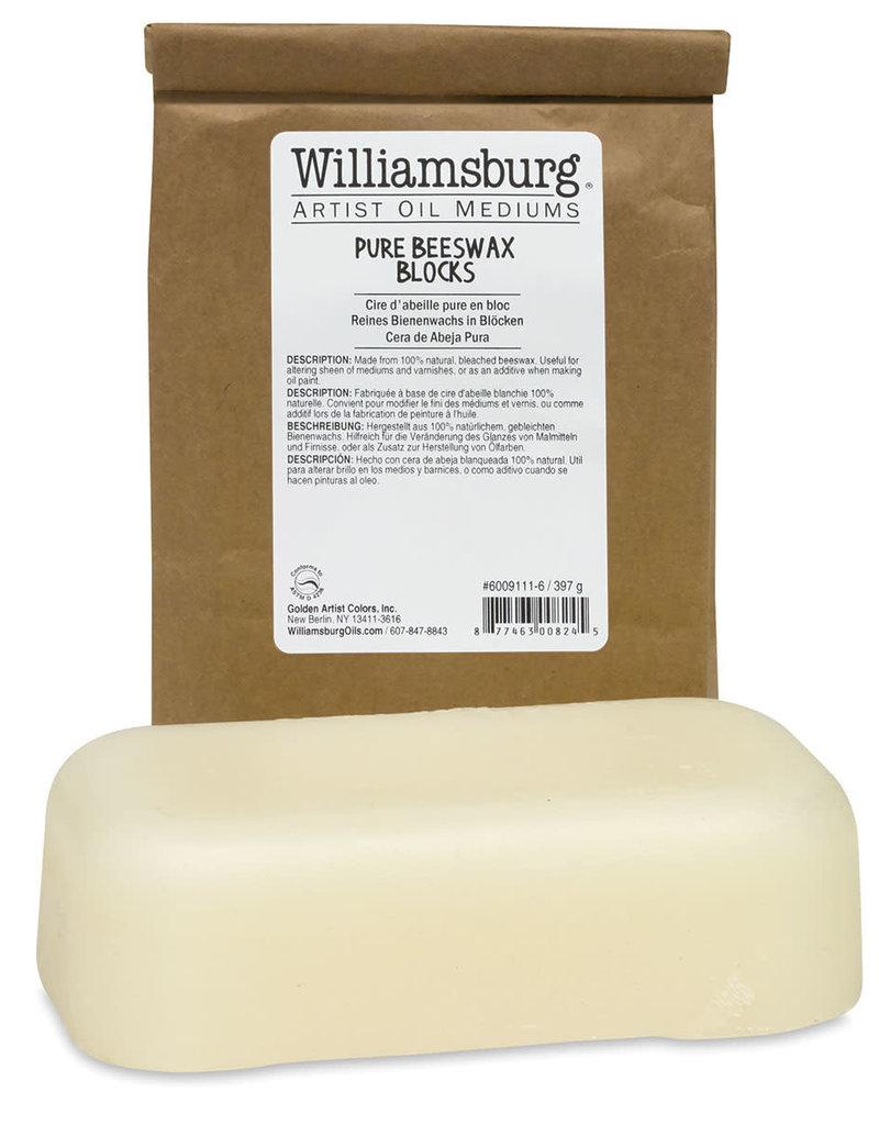Williamsburg Handmade Oils Beeswax Block 1 Pound