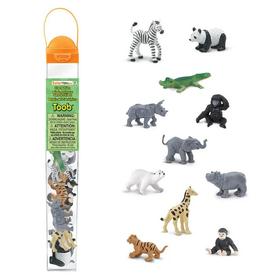 Safari Animal Figurine Sets