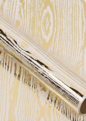 Jillson & Roberts Gift Wrap Roll Golden Wood Grain