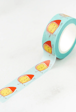 Ilootpaperie Washi Gouda Cheese Chase