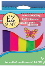 Sculpey EZ Shape Clay Bright 5 Pack