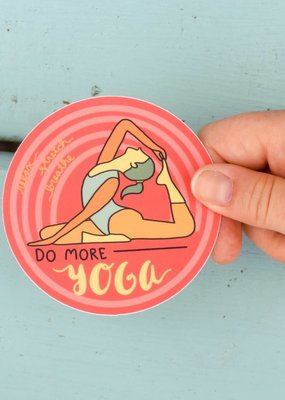 KPB Designs Sticker Yoga