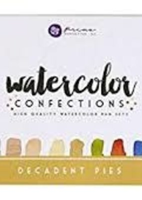 Prima Marketing Watercolor Confections Decadent Pies