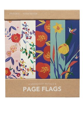 Girl of All Work Page Flags Midnight Petals