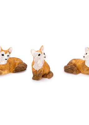 Darice Mini Resin Fox