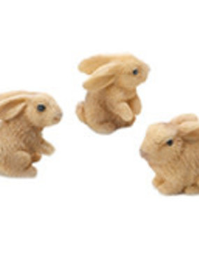 Darice Mini Resin Rabbits