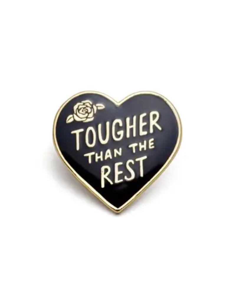 Lucky Horse Press Enamel Pin Tough Heart