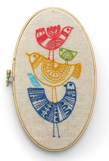 Budgie Goods Embroidery Kit Birds