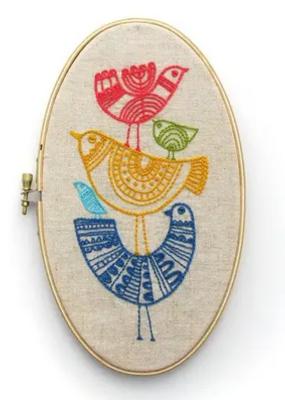 budgiegoods Embroidery Kit Birds
