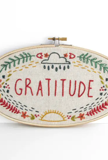Budgie Goods Embroidery Kit Gratitude