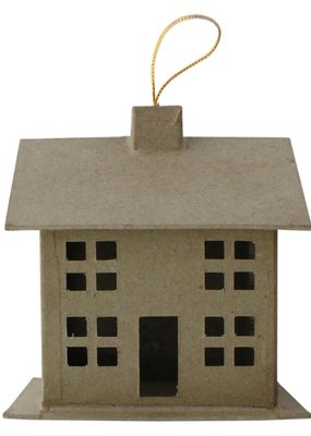 PA Essentials Paper Mache 3D House Small Style C