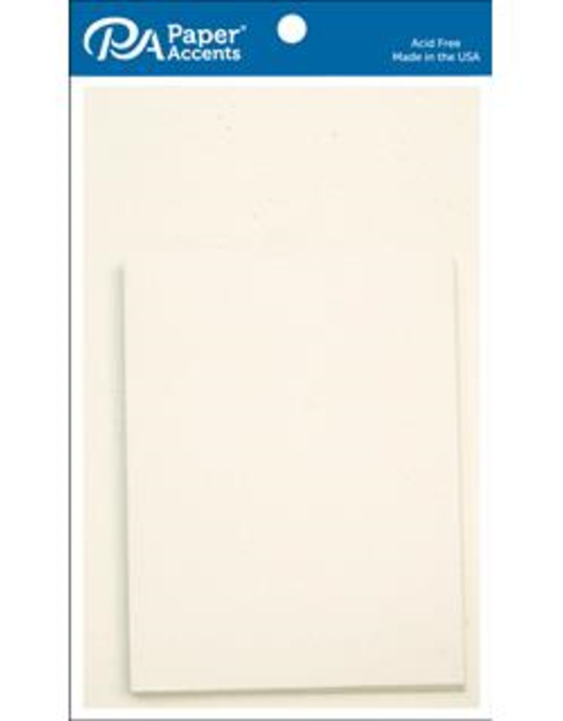 Paper Accents Card and Envelope 4.25 x 5.5  Set of 10 Birch
