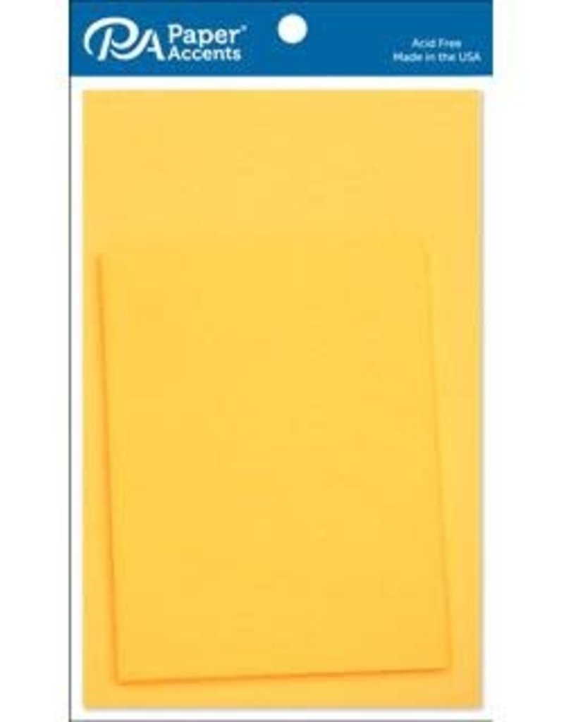 Paper Accents Colored Cards and Envelopes 4.25 x 5.5  Set of 10