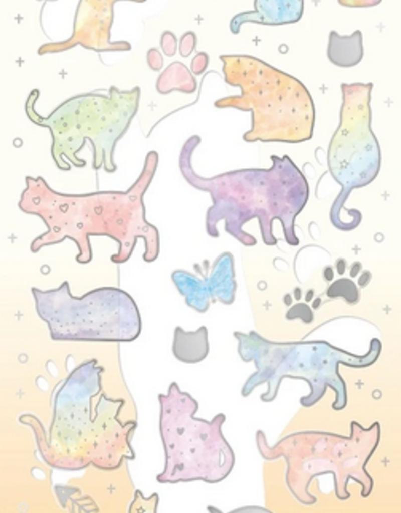Sticker Rainbow Cat