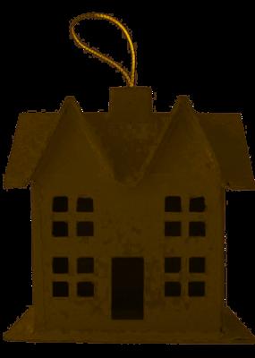 PA Essentials Paper Mache 3D House Small Style E
