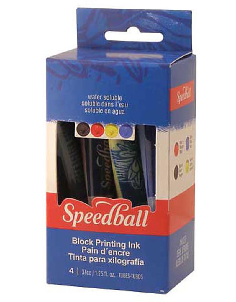 Speedball Basic Block Printing 4 Color Kit