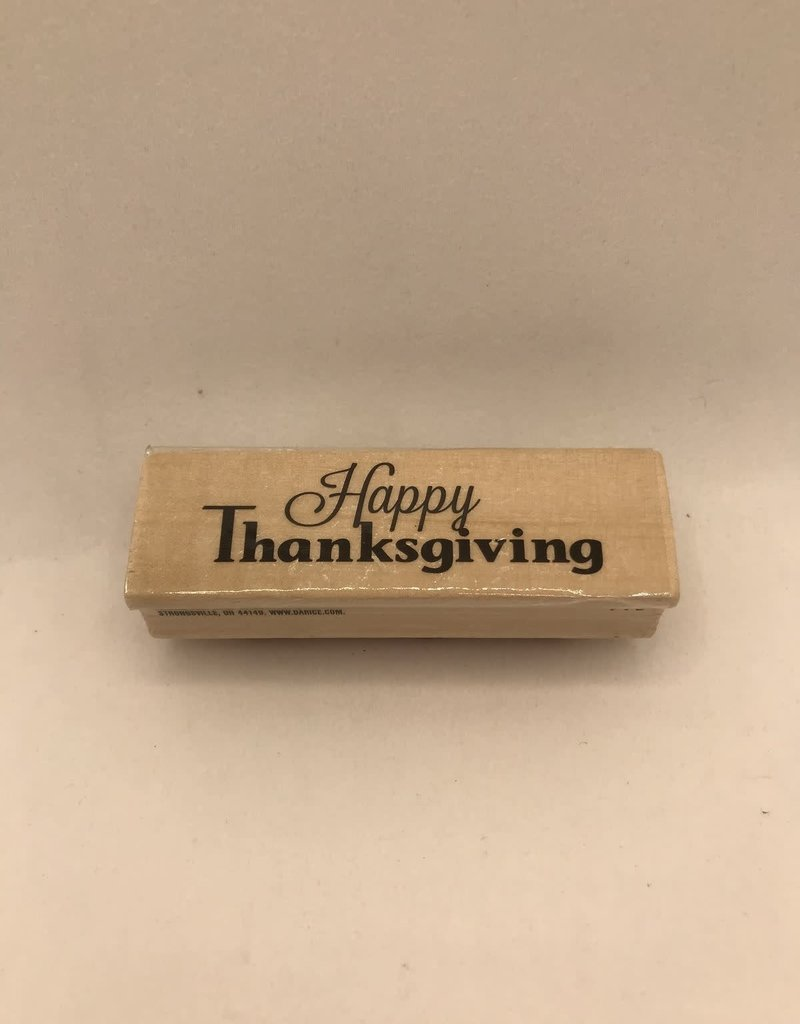 Stamp Happy Thanksgiving